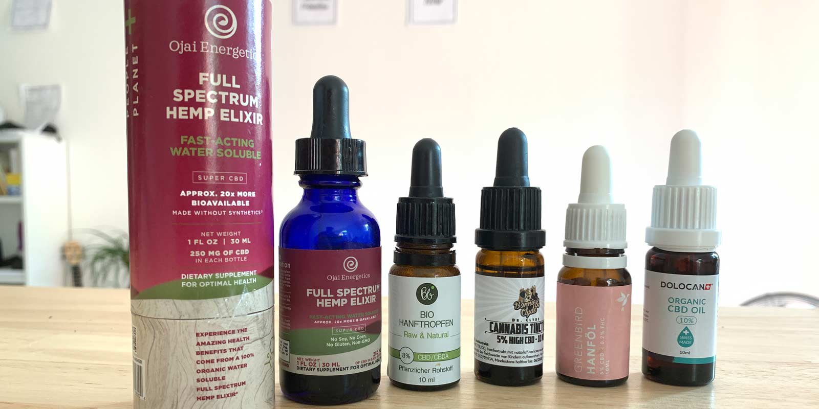 Ojai Energetics CBD and CBD oils