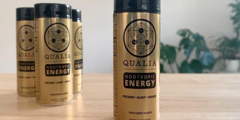 4 shots of Qualia Nootropic Energy