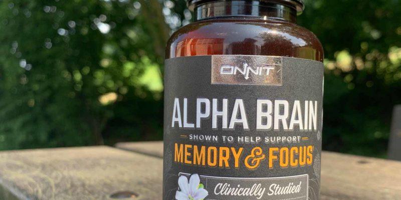 Alpha Brain Packung